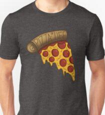 Pizza ist LEBEN Slim Fit T-Shirt