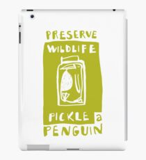 Pickle a Penguin iPad Case/Skin