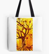Golden tree of Life Tote Bag