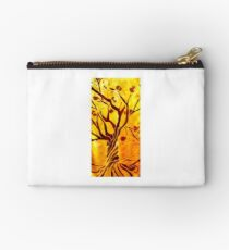 Golden tree of Life Studio Pouch