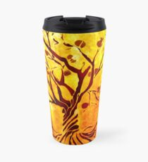 Golden tree of Life Travel Mug
