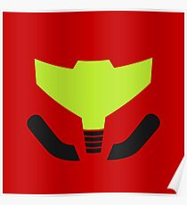 Samus' visor Poster