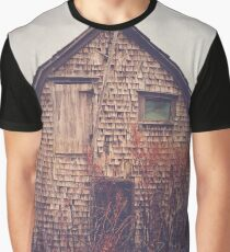 She Created Stories About Abandoned Houses Graphic T-Shirt