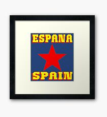 ESPANA Framed Print