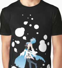 Aqua Kingdom Hearts Graphic T-Shirt