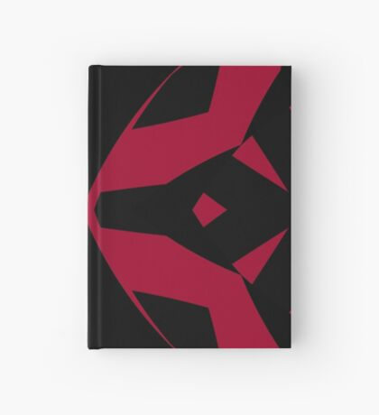 Red and Black Design by Julie Everhart Hardcover Journal