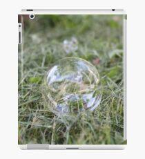 Bubble on Cut Grass iPad Case/Skin