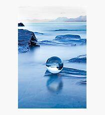Blue crystal II Photographic Print