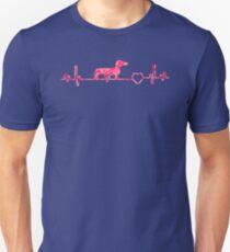Dachshund Heartbeat ornament Lovers tShirt Slim Fit T-Shirt