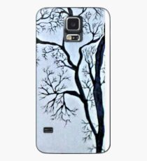 Trees in black and white Case/Skin for Samsung Galaxy