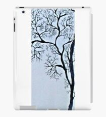 Trees in black and white iPad Case/Skin
