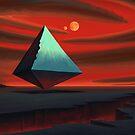 Moon Pyramid by Remus Brailoiu