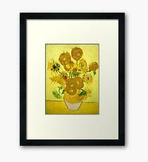 Sunflowers by Van Gogh Framed Print