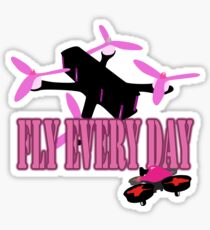 FLY EVERY DAY Sticker