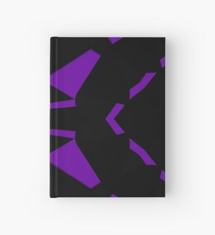 Purple and Black by Julie Everhart Hardcover Journal