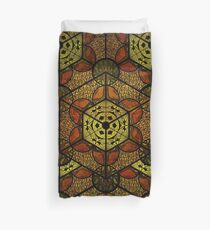 Sacred Geometry TerraCube Duvet Cover