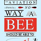 BEE MOVIE SCRIPT Typography von GobbleWobble
