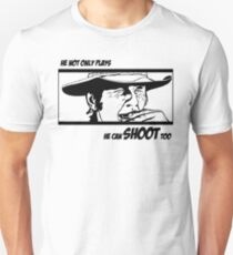 Charles Bronson, he can shoot too Unisex T-Shirt