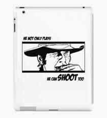 Charles Bronson, he can shoot too iPad Case/Skin