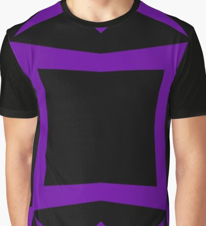 Black and Purple Design 3 by Julie  Everhart Graphic T-Shirt