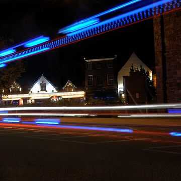 The bright lights of Abbey Foregate! by dunawori