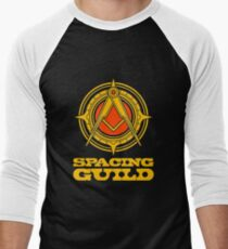 spacing guild Men's Baseball ¾ T-Shirt
