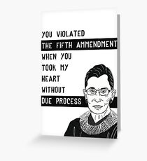 RBG Valentine Greeting Card