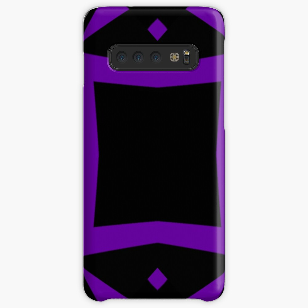 Black and Purple Design 3 by Julie  Everhart Case & Skin for Samsung Galaxy