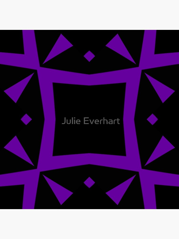 Black and Purple Design 3 by Julie  Everhart by julev69