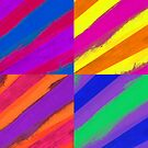 Rainbow Collage by Tamarra
