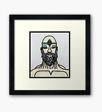 Sketch Spiritual Master Framed Print