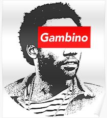 Childish Gambino art Poster