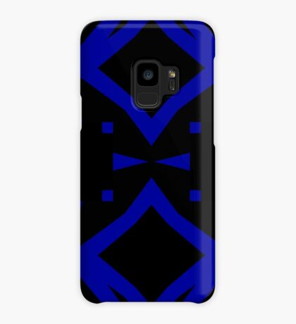 Black and Blue by Julie Everhart Case/Skin for Samsung Galaxy