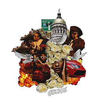 Migos Bad and Boujee Culture Merchandise by urb4n