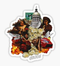Migos Bad and Boujee Culture Merchandise Sticker