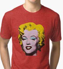 Marilyn Monroe Art Tri-blend T-Shirt