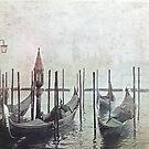 Vintage Venetian Scene by DavidWHughes
