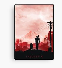 Fallout IV Canvas Print