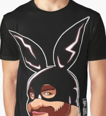 ADAM LIKES BUNNIES Graphic T-Shirt