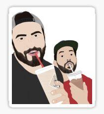 Zane Hijazi and Heath Hussar Sticker