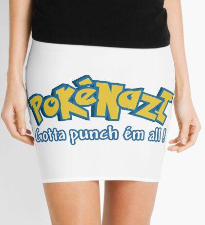 PokéNazi - Gotta punch ém all! Mini Skirt