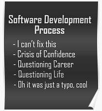 Software Development Humour Design Poster