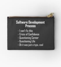 Software Development Humour Design Studio Pouch