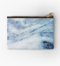 Blue Marble Zipper Pouch
