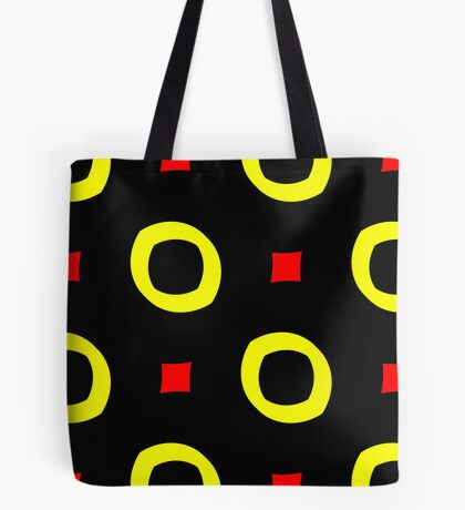 Red and Yellow by Julie Everhart Tote Bag