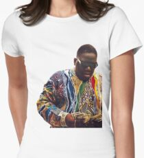 Biggie Smalls Women's Fitted T-Shirt