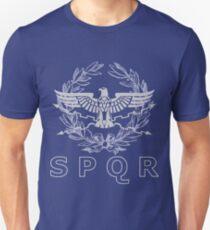 SPQR The Roman Empire Emblem T-Shirt