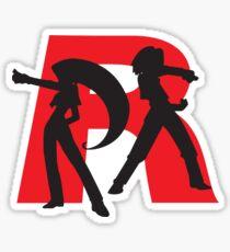 Team Rocket T-Shirt Sticker
