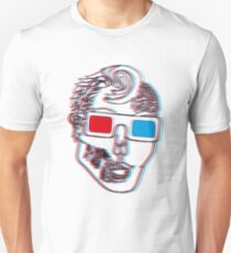 Hipster Zombie Now in Eye Popping 3D T-Shirt