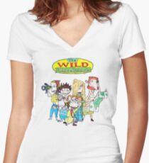 The Wild Thornberrys Women's Fitted V-Neck T-Shirt